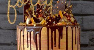 Not your average Chocolate Orange Cake