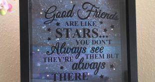Friends gift, Best Friends Gift, Best Friends Frame, Friends Frame, Birthday Frame, Friends Birthday Gift, Gift for her, Box Frame, Friend