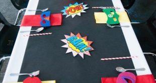 Modern Urban Superhero Party via Kara's Party Ideas