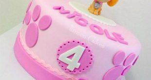 80 Paw Patrol Cakes in der Pasta di Zucchero (PDZ) - Torten - #cakes #der #Pas...