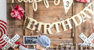All Aboard! It's a Rustic Train-Themed Kids' Birthday Party
