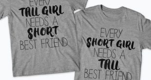 Bester Freund Hemden, BFF Outfits, Besties Hemden, BFF Top Tall One Short One T-...