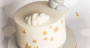 Ein verträumter erster Geburtstagskuchen für meinen Enkel Quinn - #Geburtstag #Kuchen #TRAUM ...
