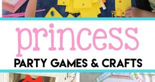 Fun + Festive Princess Party Games