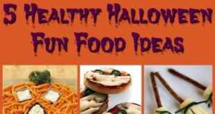 Healthy Halloween Fun Food Ideas