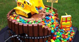 "PAW PATROL ""RUBBLE"" GEBURTSTAGSKUCHEN - Kids party - #Geburtstagskuchen #Kids ..."