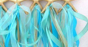 Seestern, MERMAID Zauberstab, Meerjungfrau-Party-Versorgung, jeder Farbe, unter ...