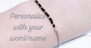 Sympathy gift, memorial gift, in memory gifts, morse code bracelet, personalized gifts for her birthday, word bracelet, dainty bracelet