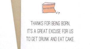 lustige Geburtstagskarten Geburtstagskarte für Freund oder Schwester / Bruder D...